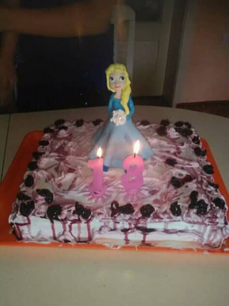 Torta sa belom čokoladom