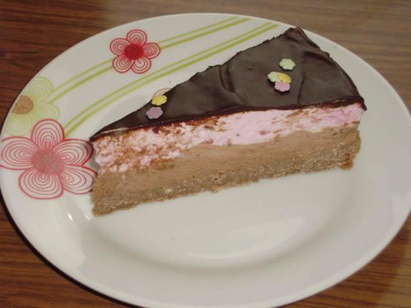 Torta sa malinama i čokoladom