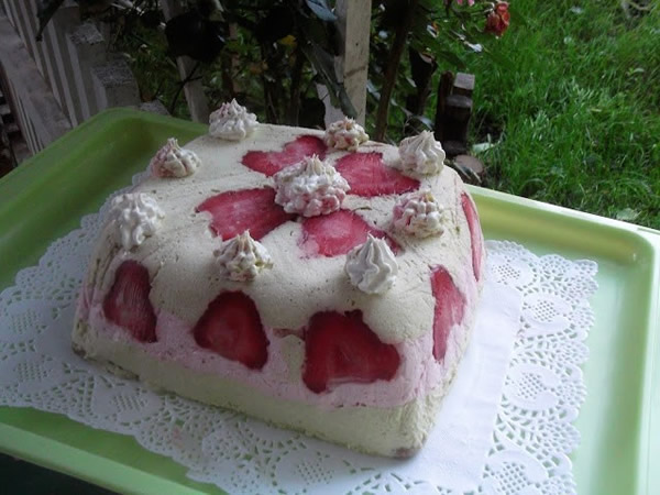 Voćna torta sa C šlag kremom