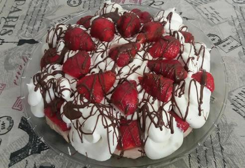 Voćna torta sa želeom